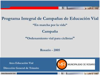 Area Educaci�n Vial