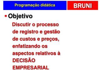 Programa��o did�tica