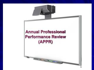 Annual Professional  Performance Review (APPR)