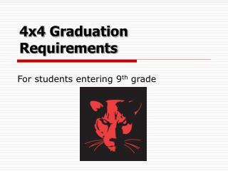 4x4 Graduation Requirements