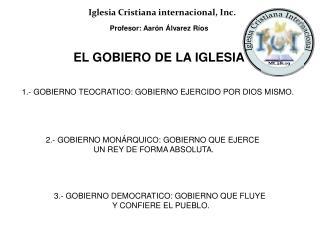 Profesor: Aarón Álvarez Ríos