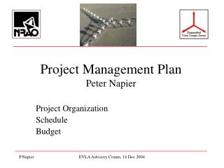 Project Management Plan  Peter Napier