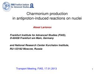 Charmonium production in antiproton-induced reactions on nuclei
