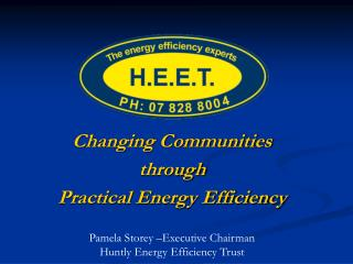 Changing Communities through Practical Energy Efficiency