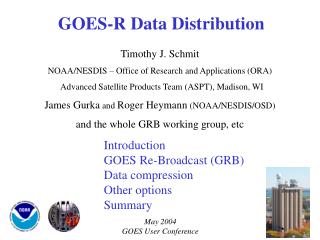 GOES-R Data Distribution