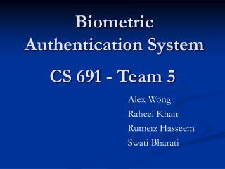 CS 691 - Team 5