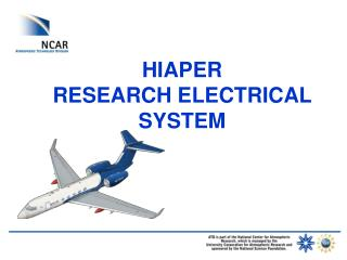 HIAPER  RESEARCH ELECTRICAL SYSTEM