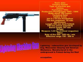 Lightning Machine Gun