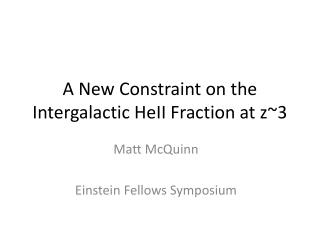 A New Constraint on the Intergalactic HeII Fraction at z~3