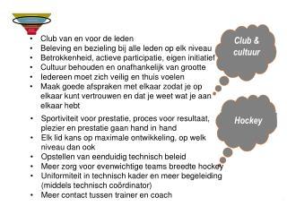 Club & cultuur