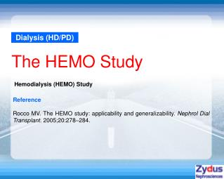Dialysis (HD/PD)