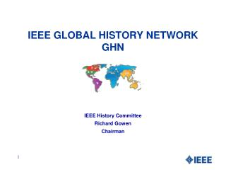 IEEE GLOBAL HISTORY NETWORK  GHN