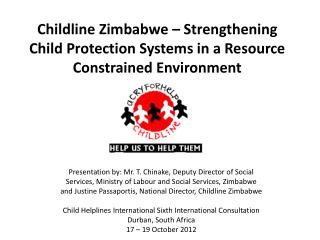 Childline Zimbabwe – Strengthening Child Protection Systems in a Resource Constrained Environment