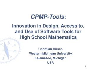 CPMP-Tools :