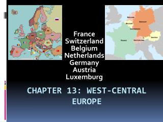 Chapter 13: West-Central Europe