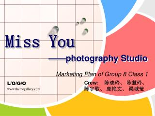 Miss You ——photography Studio