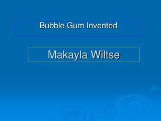 Makayla Wiltse