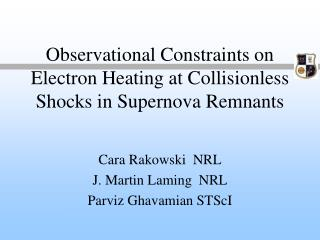 Observational Constraints on Electron Heating at Collisionless Shocks in Supernova Remnants