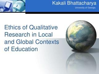 Kakali Bhattacharya
