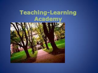 Teaching-Learning Academy