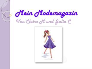 Mein  Modemagazin