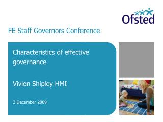 FE Staff Governors Conference