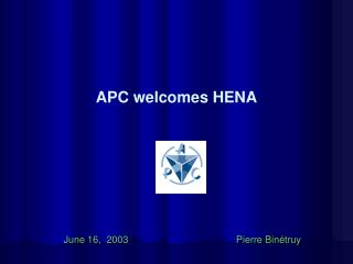 APC welcomes HENA