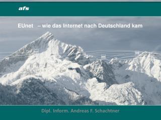 EUnet   – wie das Internet nach Deutschland kam