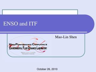 ENSO and ITF