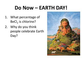 Do Now – EARTH DAY!