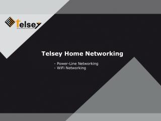 Telsey Home Networking