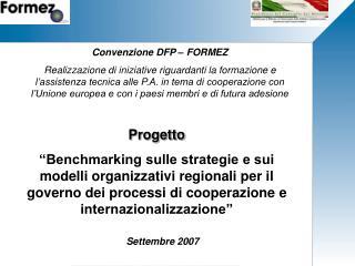 Convenzione DFP – FORMEZ