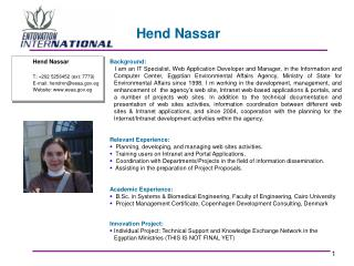 Hend Nassar