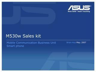 M530w Sales kit