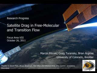 Marcin Pilinski,  Craig  Turansky , Brian Argrow University of Colorado, Boulder