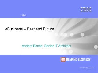 eBusiness � Past and Future