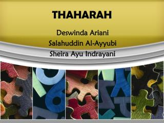 THAHARAH