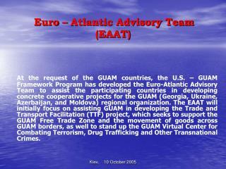 Euro – Atlantic Advisory Team (EAAT)