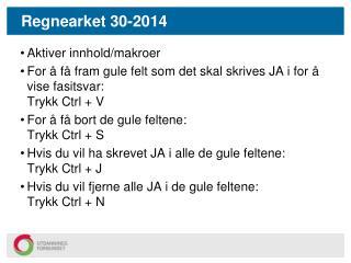 Regnearket 30-2014
