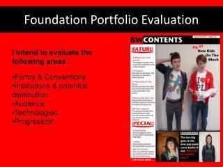 Foundation Portfolio Evaluation