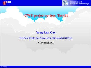 CWB project review: Task#1