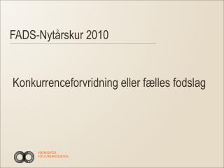 FADS-Nytårskur 2010