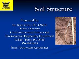 Soil Structure