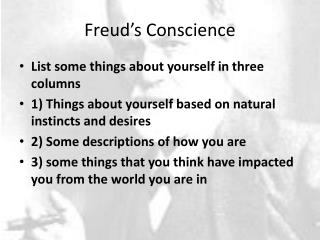 Freud's Conscience