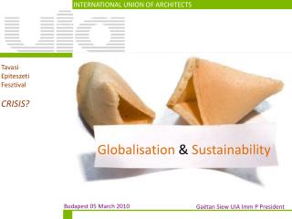 Globalisation  &  Sustainability
