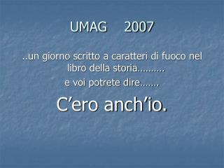 UMAG    2007