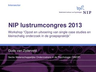 NIP lustrumcongres 2013