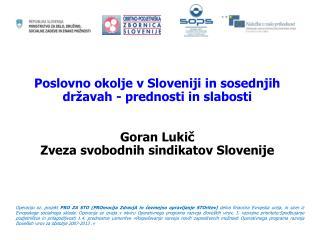 Projekt  PRO ZA STO (PROmocija ZdravjA in čezmejno opravljanje STOritev)