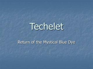 Techelet