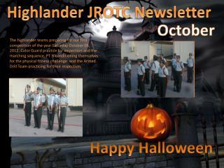 Highlander JROTC Newsletter